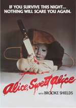 Alice Sweet Alice DVD