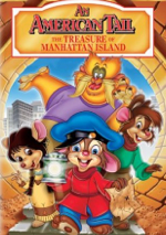 An American Tail: The Treasure of Manhattan Island DVD