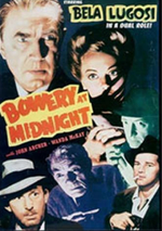 Bowery at Midnight DVD