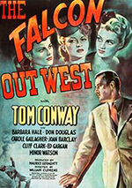 The Falcon Out West poster