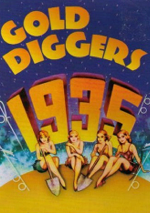 Gold Diggers of 1935 DVD cover