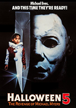 Halloween 5: The Revenge of Michael Meyers poster