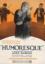 Humoresque 1920 poster