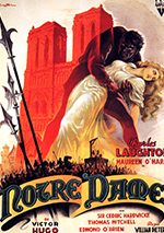 The Hunchback of Notre Dame 1939 poster