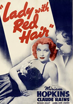 Lady with Red Hair poster