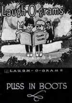 Laugh-o-Grams Puss in Boots art