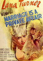Marriage is a Private Affair poster