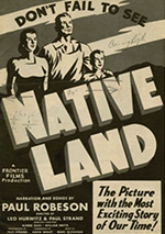 Native Land poster