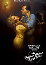 The Postman Always Rings Twice 1981 poster