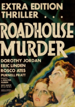 The Roadhouse Murder poster