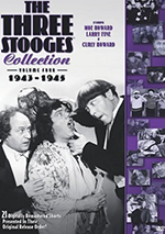 The Three Stooges volume 4 DVD