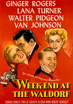 Weekend at the Waldorf poster