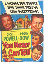 You Never Can Tell poster