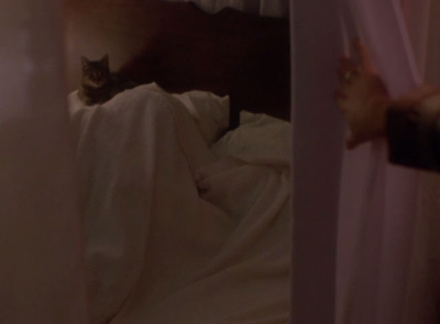 976-EVIL - cat lying next to body in bed