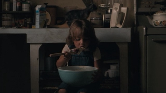 Ain't them Bodies Saints - Sylvie Kennadie Jacklynn Smith with tabby kitten on counter behind