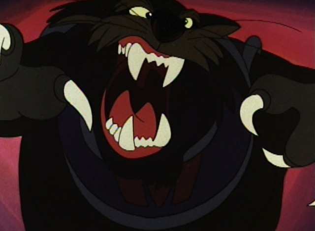 An American Tail - cat pouncing