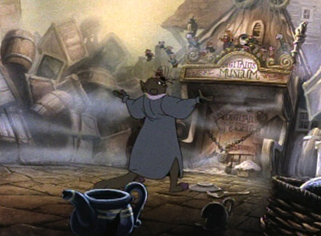 An American Tail - Warren T. Cat insists mice turn over Fievel