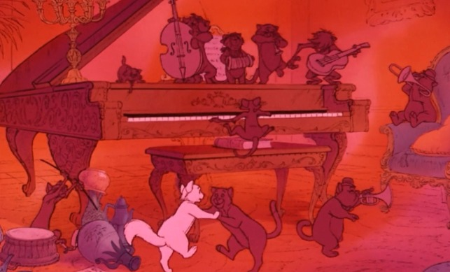 The Aristocats cast
