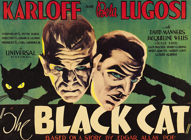 The Black Cat 1934 - lobby card