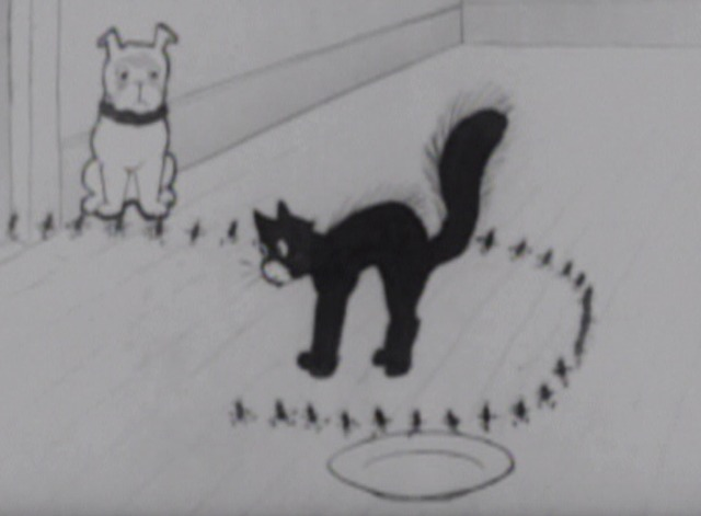 Bobby Bumps' Pup Gets the Flea-enza - pup leads germs to cat