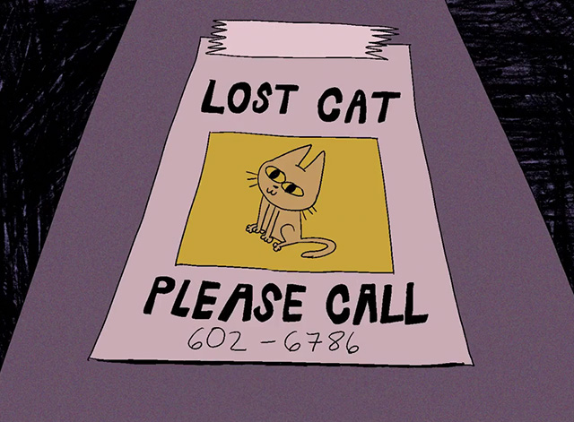 Cat City - poster for lost cat