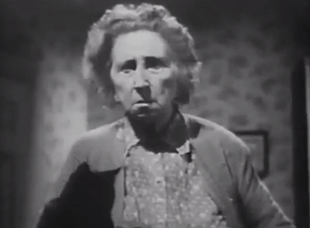 The Cat Creeps - Cora Williams Vera Lewis with black cat