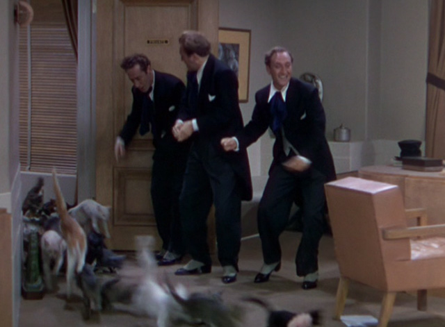 The Goldwyn Follies - cats flooding into office with The Ritz Brothers