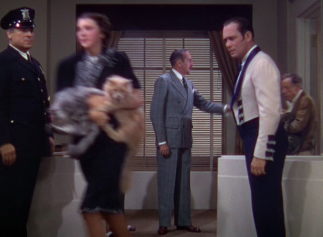 The Goldwyn Follies - cats being carried out of office past Merlin Adolph Menjou