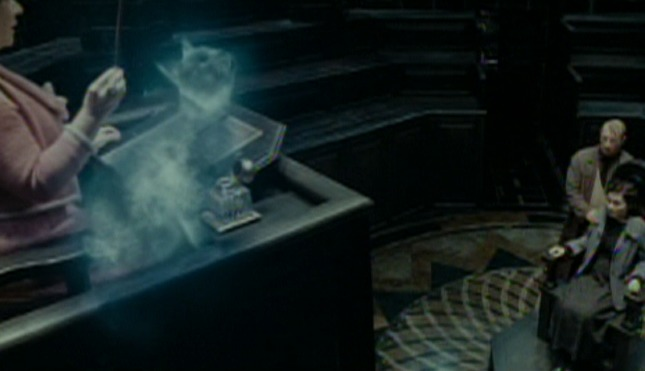 Harry Potter and the Deathly Hallows Part One - Umbridge's cat patronus