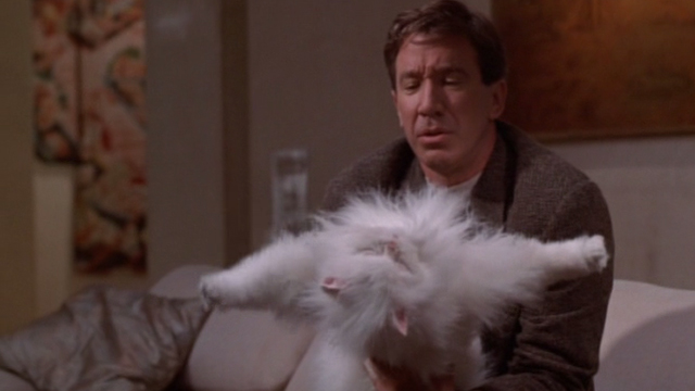 Jungle 2 Jungle - Michael Tim Allen with fake limp Coco white Persian cat