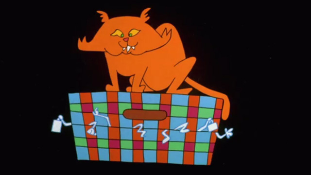 Madhouse - orange animated cat from opening credits