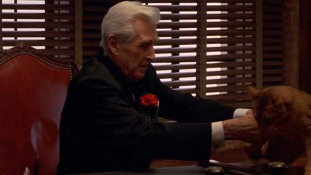 Mafia - Vincenzo Cortino Lloyd Bridges sets cat down on desk