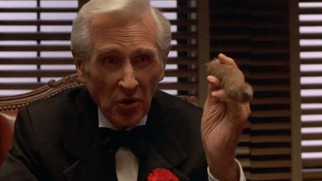Mafia - Vincenzo Cortino Lloyd Bridges holding cat's tail like a cigar