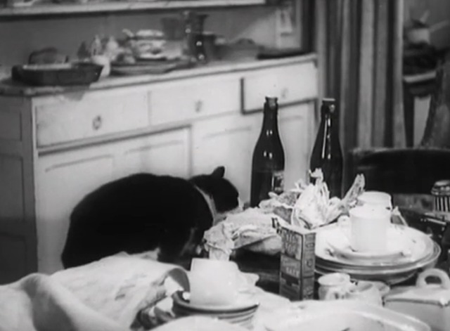 Millions Like Us - Pickles cat sneaks food from table