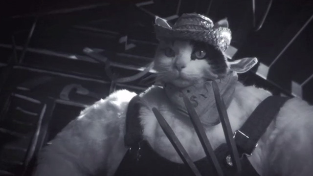 Monkeybone - country cat with pitchfork