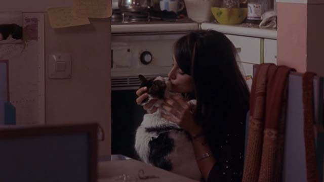 Open Your Eyes - long-haired cat Pancho kissed by Sofia Penélope Cruz