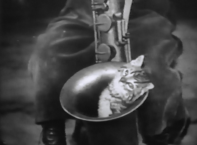 Our Gang - Lodge Night - kitten inside saxophone