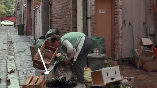 Proof - Bengal tabby cat Ugly lying motionless beneath trash being moved by Andy Russell Crowe