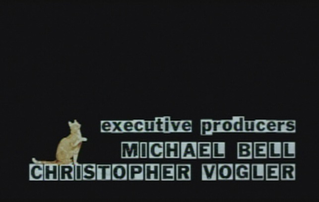P.S. Your Cat is Dead! - cat with executive producers credit