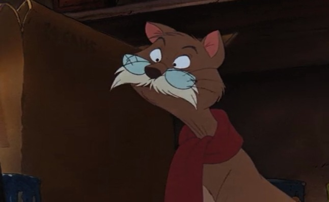 The Rescuers cat Rufus