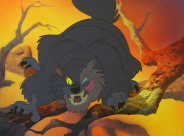The Secret of NIMH cat Dragon