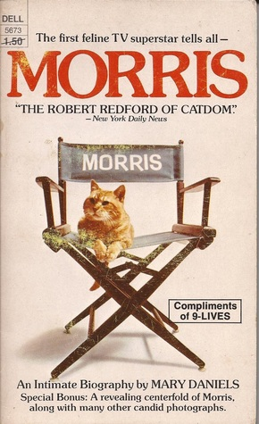 cover of Morris the Cat biography by Mary Daniels