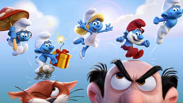 Smurfs: The Lost Village - publicity art