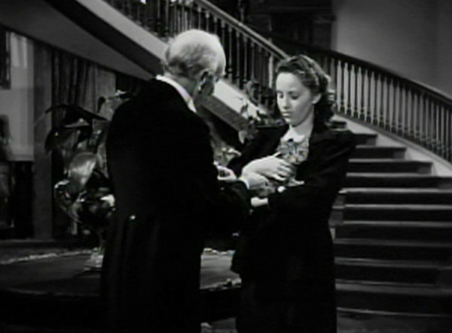 The Strange Loves of Martha Ivers - Martha gives kitten to butler