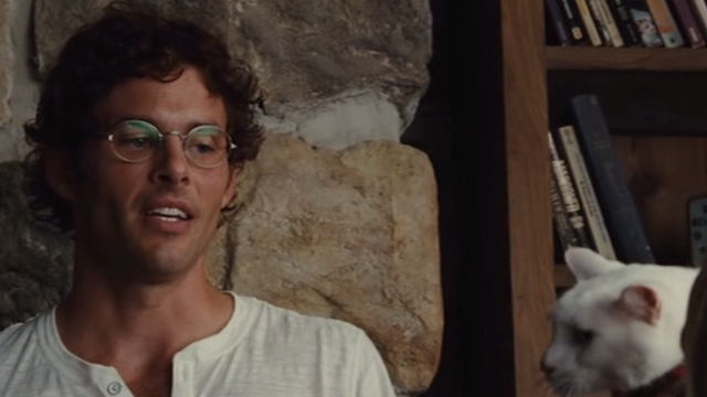 Straw Dogs 2011 - white cat Flutie and David James Marsden