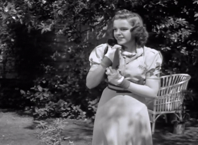 Strike Up the Band - Mary Judy Garland holding tuxedo kitten