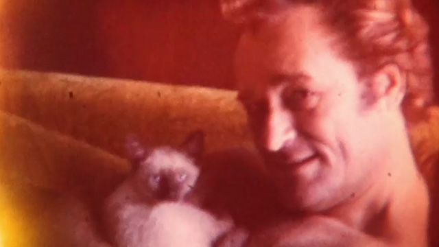 That Guy Dick Miller - home movie of Dick Miller with Siamese kitten