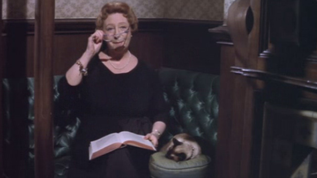 The Third Day - Aunt Catherine Mona Washbourne reading to Siamese cat