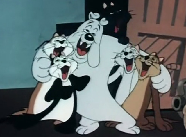 Trap Happy Porky - bulldog singing with drunk cats