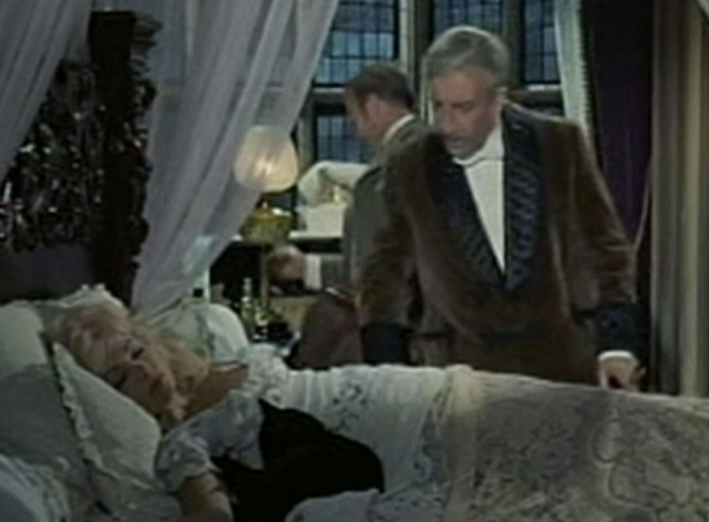 Waltz of the Toreadors - Fitzjohn looking at black cat in bed with Ghislaine